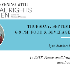 Upcoming Event: Global Rights For Women Evening In Washington, D.C