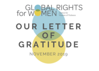 Our Letter Of Gratitude