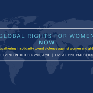 We Are Inviting You To Be Part Of The Global Movement To End Violence Against Women And Girls