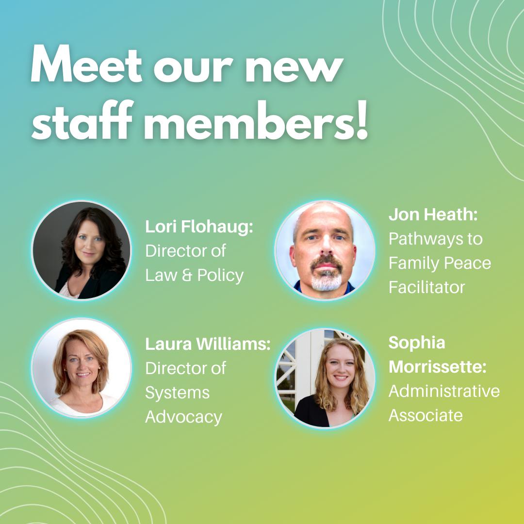 New Staff Members!
